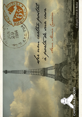 """Capa de """"Ser um cartão postal a espera de você""""."""